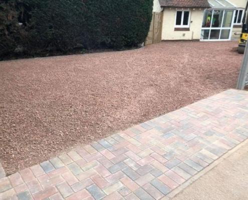gravel driveways Warwick