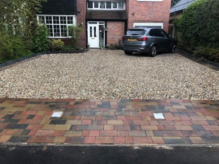 gravel driveway installation in Stratford upon Avon