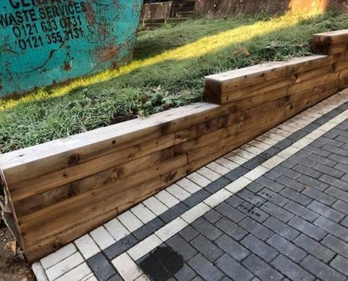garden wall installation Warwick