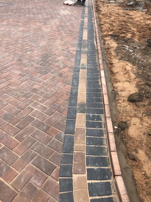 patterned edging block paving solihull