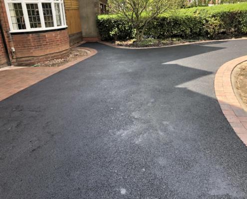 resin driveway in Edgbaston