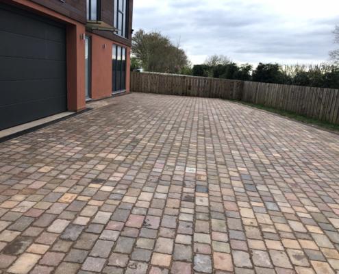 block paving driveway Harbury Warwickshire