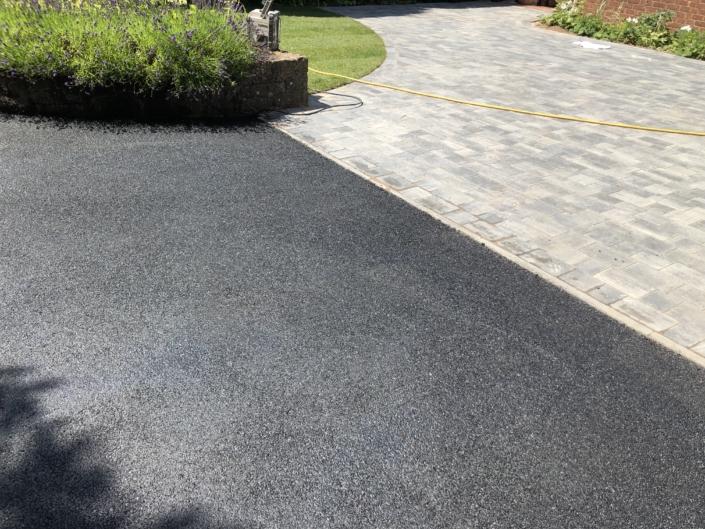 large new tarmac driveway in Warwick
